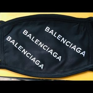 Balenciaga custom face mask